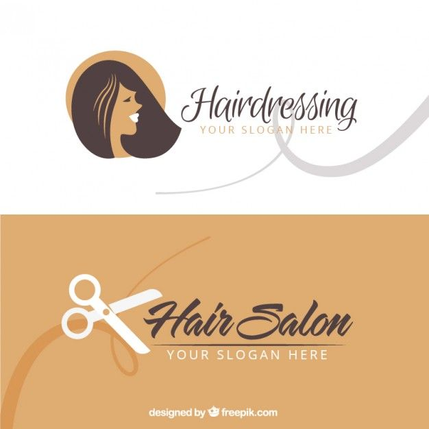 Hair Salon Business Card Free Vector  Card  Banner