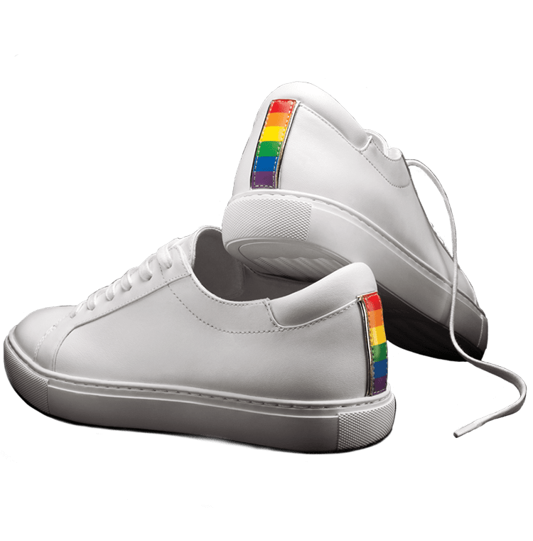 142b51376d36 PRIDE KAM SNEAKER KENNETH COLE NEW YORK - Limited edition sneaker to honor  LGBTQ Pride Month In support of the Human Rights Campaign.
