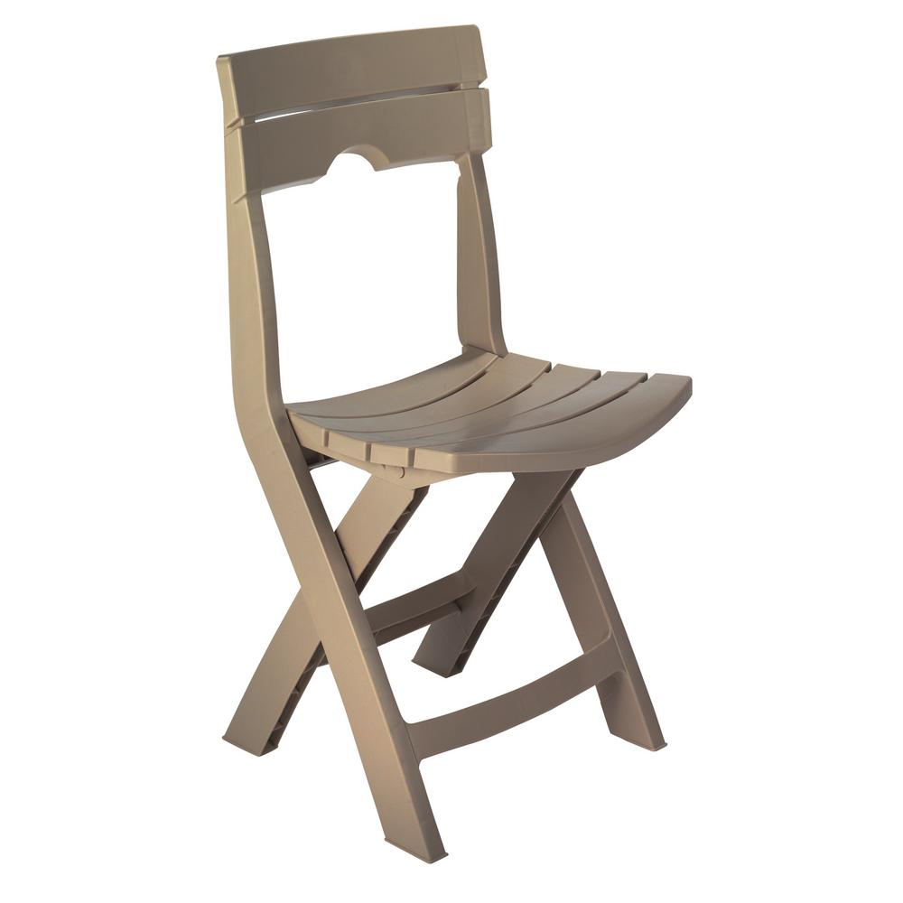 Adams manufacturing quikfold portobello resin outdoor lawn chair