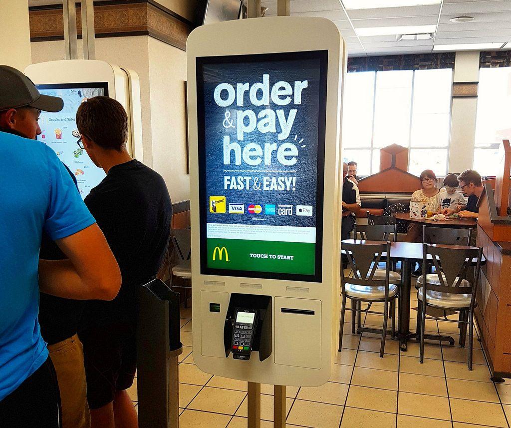 McDonald's SelfServe Kiosks Arrive in Winnipeg Totens