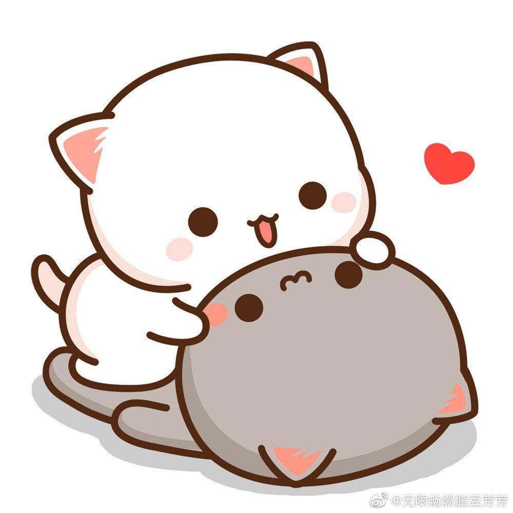 Pin By 妤 格 On Meo In 2020 Cute Animal Drawings Kawaii Cute Cartoon Images Cute Bear Drawings