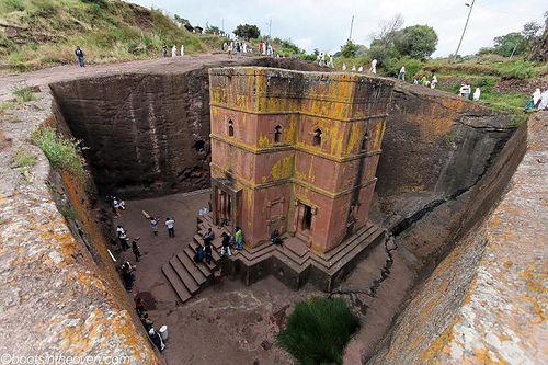 Bet Giyorgis Church In Lalibela Ethiopia King - image 4