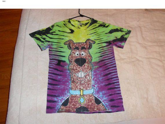 Scooby+Doo+Tie+Dyed+T+Shirt+by+GratefullyDyedDamen+on+Etsy