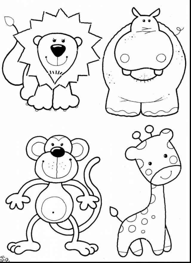 27+ Exclusive Picture of Zoo Animals Coloring Pages | free ...