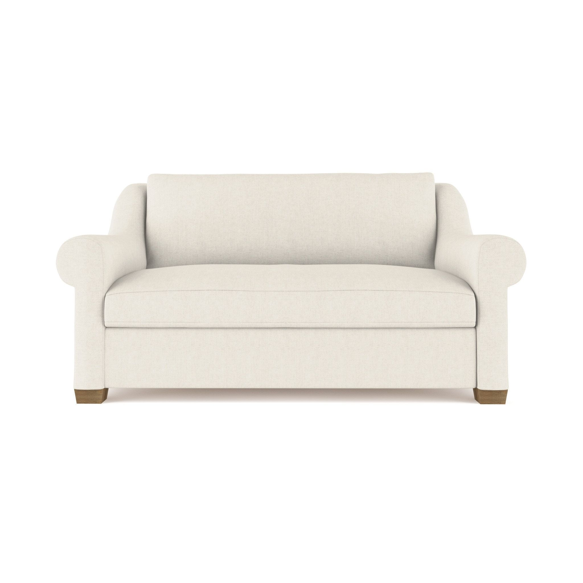 Abingdon Ivory Linen Sofa Custom Made to Order TAG by Tandem