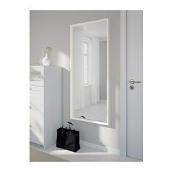 NISSEDAL Spiegel weiß 65x150 cm IKEA