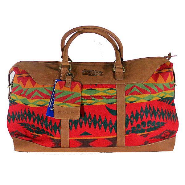 Pendleton 428 On For 269 100 Pure Virgin Wool 20 W X Weekender Bagsduffle