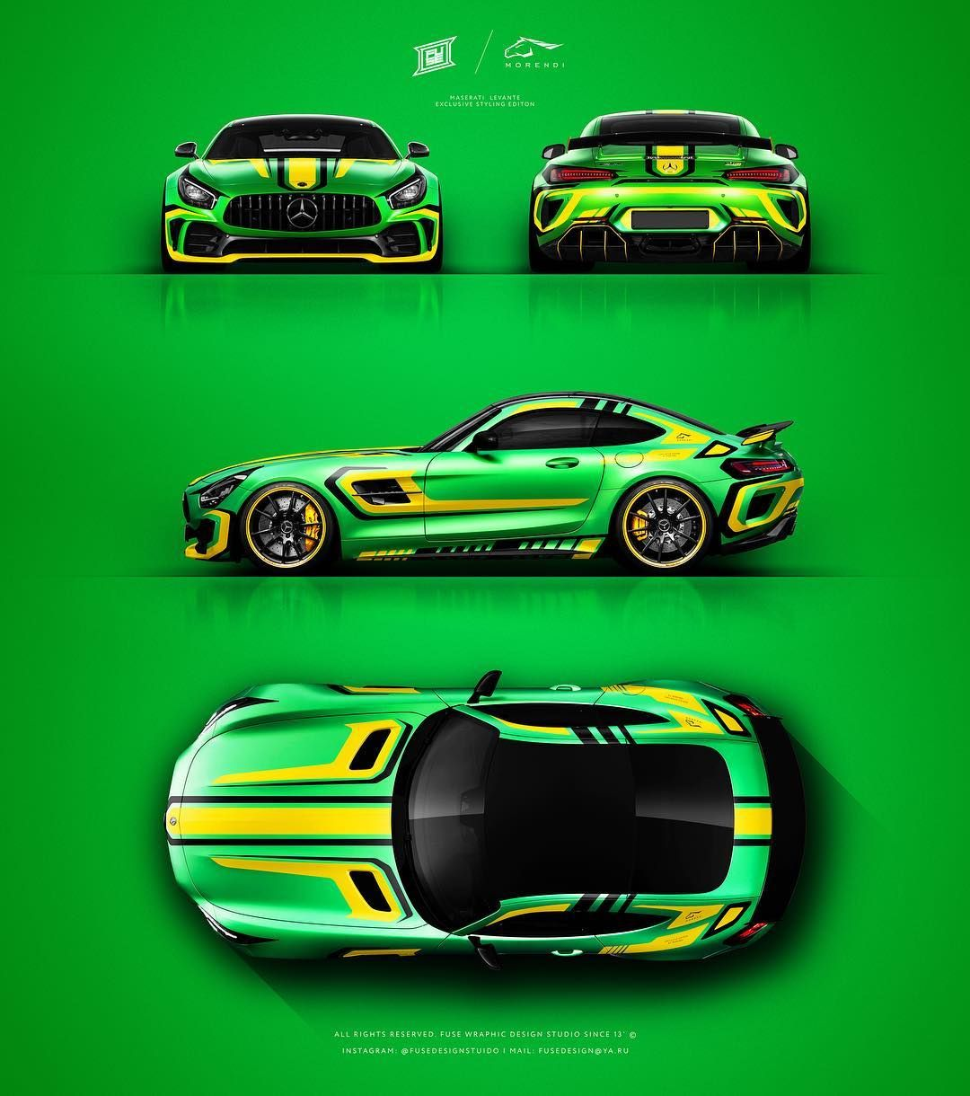 Mercedes Benz Amg Gtr Amg Livery Style Graphics Design