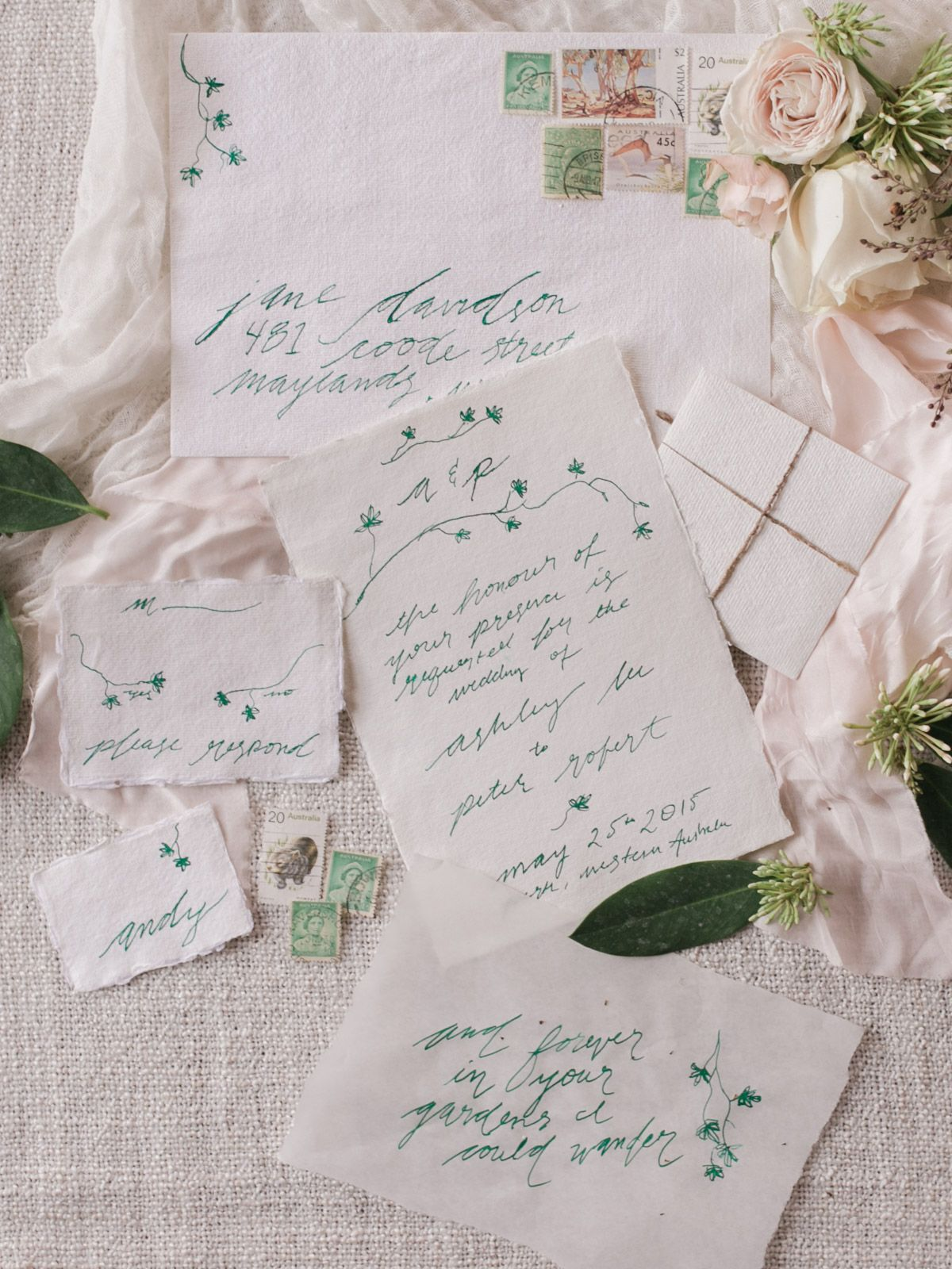 Bride La Boheme Forest Wedding Invitations And Weddings