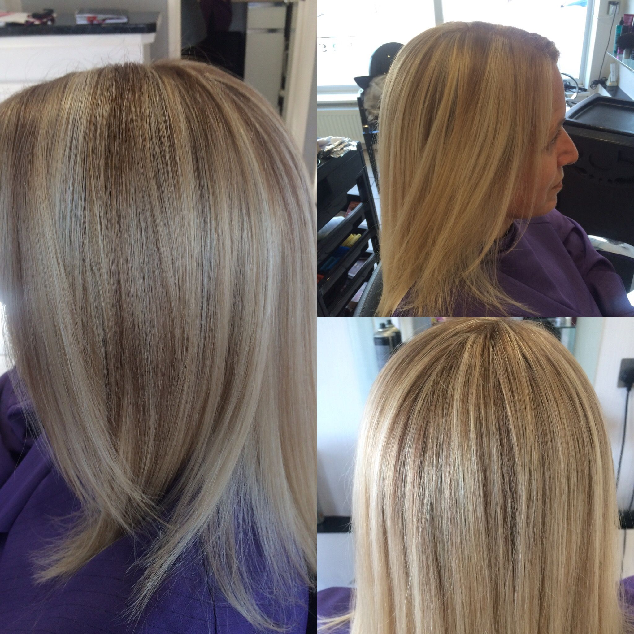 Highlights with root tint hairbyamy Hair colours