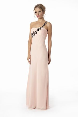 Love the light pink with black accent | boutique\'s dresses ...