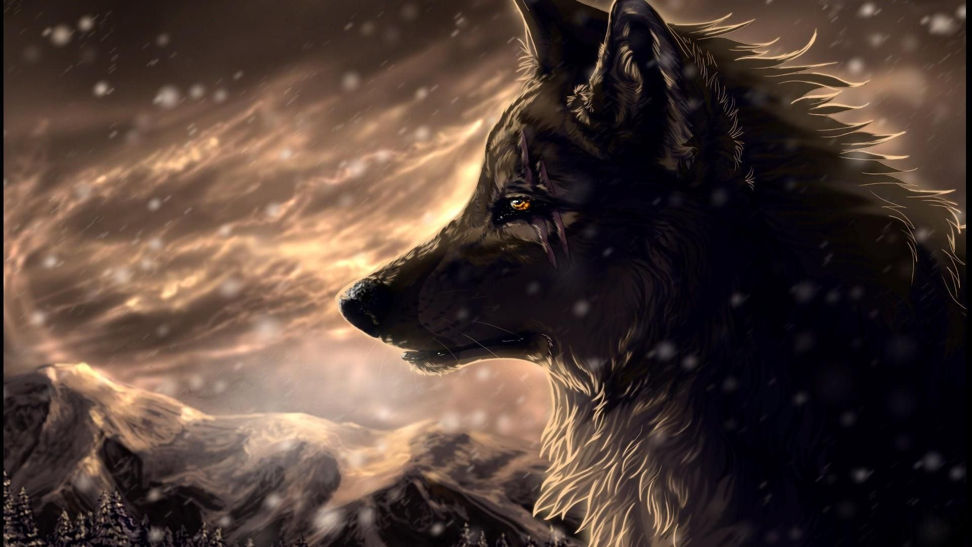 Anime hd wallpapers free download latest anime hd - Anime wolf wallpaper ...