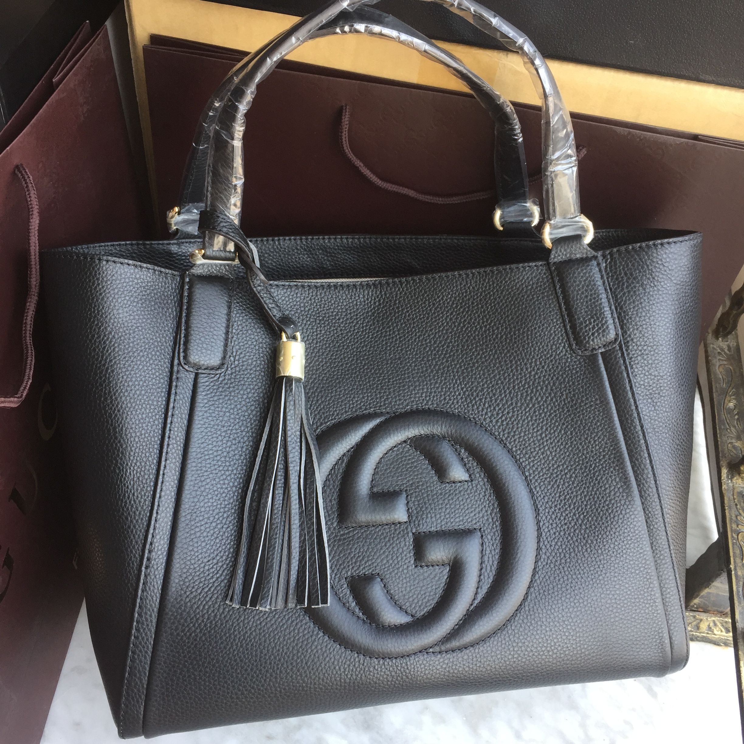 Gucci woman soho tote bag