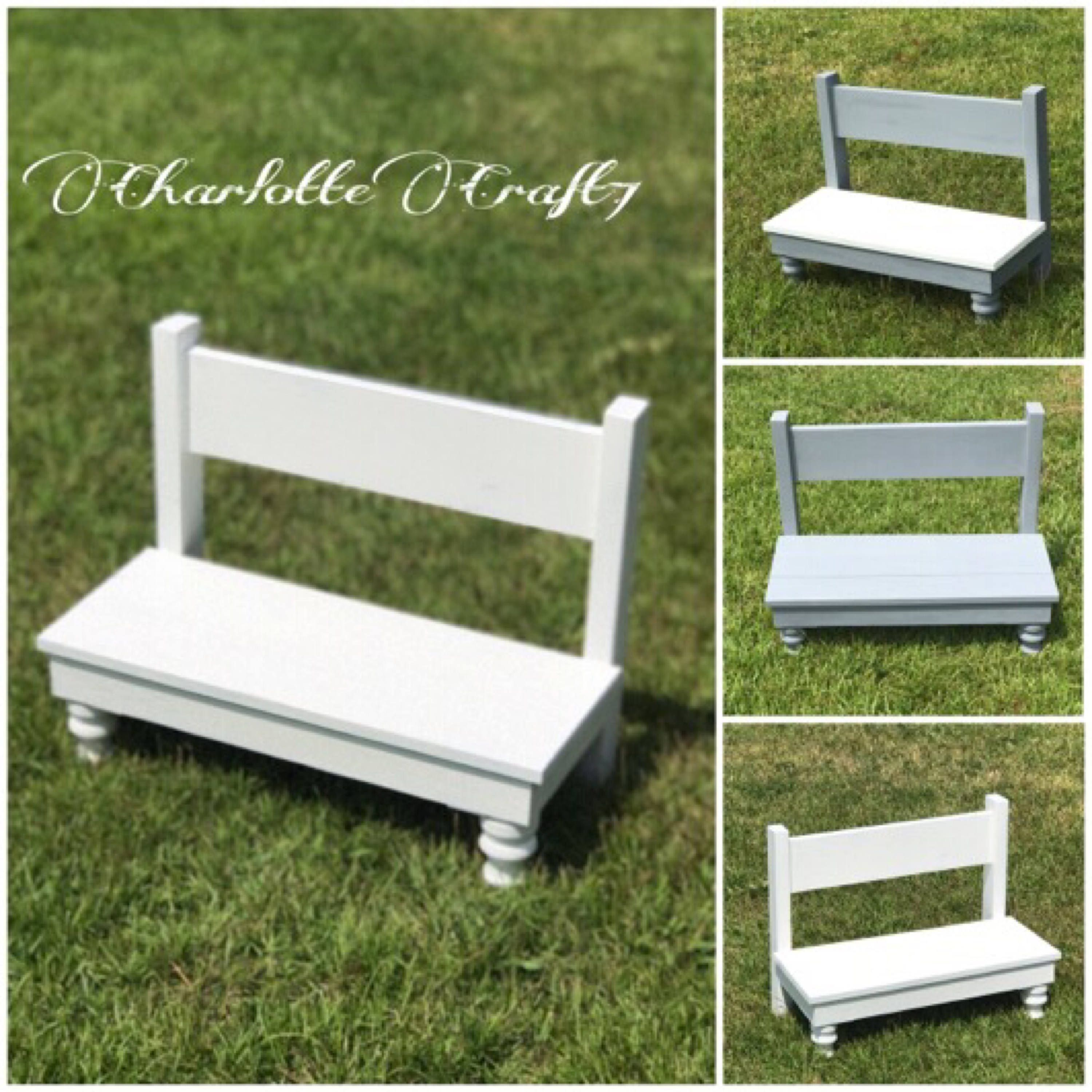 Child Farmhouse Bench Photography Props Kids Newborn Photo Props Diy Toddler Photo Props