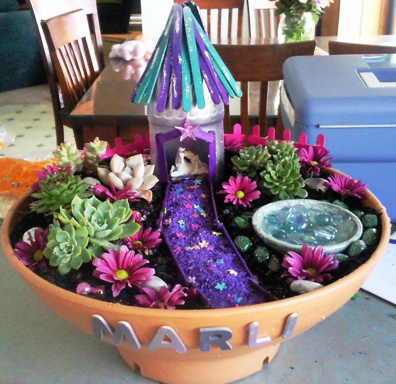 Fairy Garden Craft Ideas Part - 47: Kids Love Craft: Fairy Garden