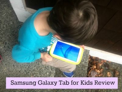"Looking to buy a tablet for your child? I review the Samsung Galaxy 7"" Tab for kids 8gb. The pros and cons and everything in between."