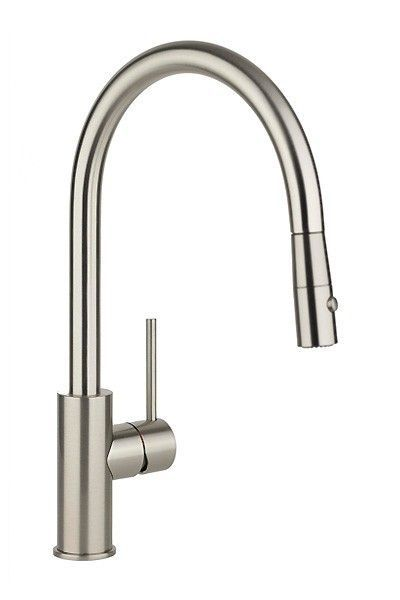 Kingo Home Commercial Touch On High Arch Stainless Steel Single