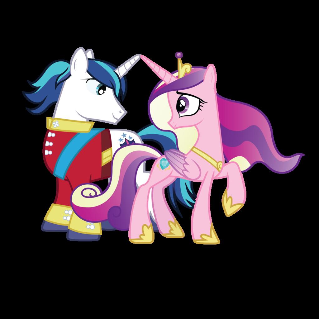 например, пони каденс и шайнинг армор картинки пикник