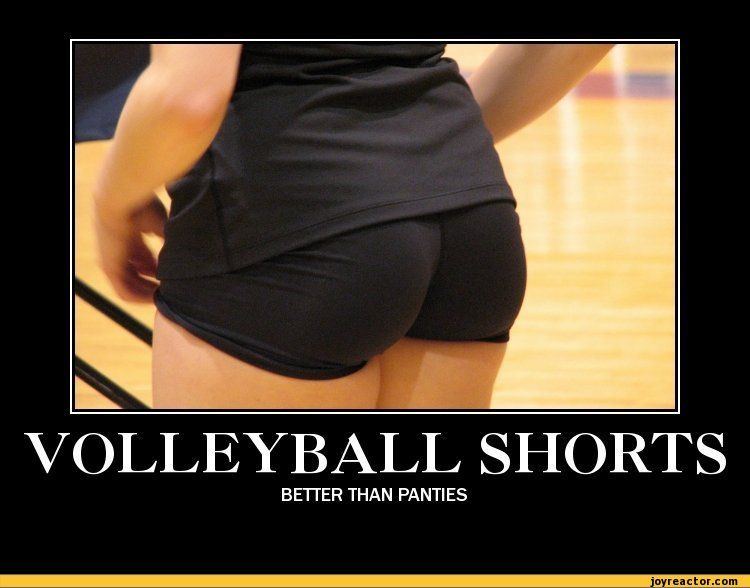 Funny Underwear Meme : Volleyball shorts better than panties funny pictures