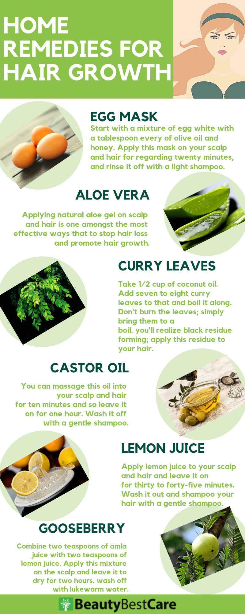 Home Remedies For Hair Growth and Thickness Home health