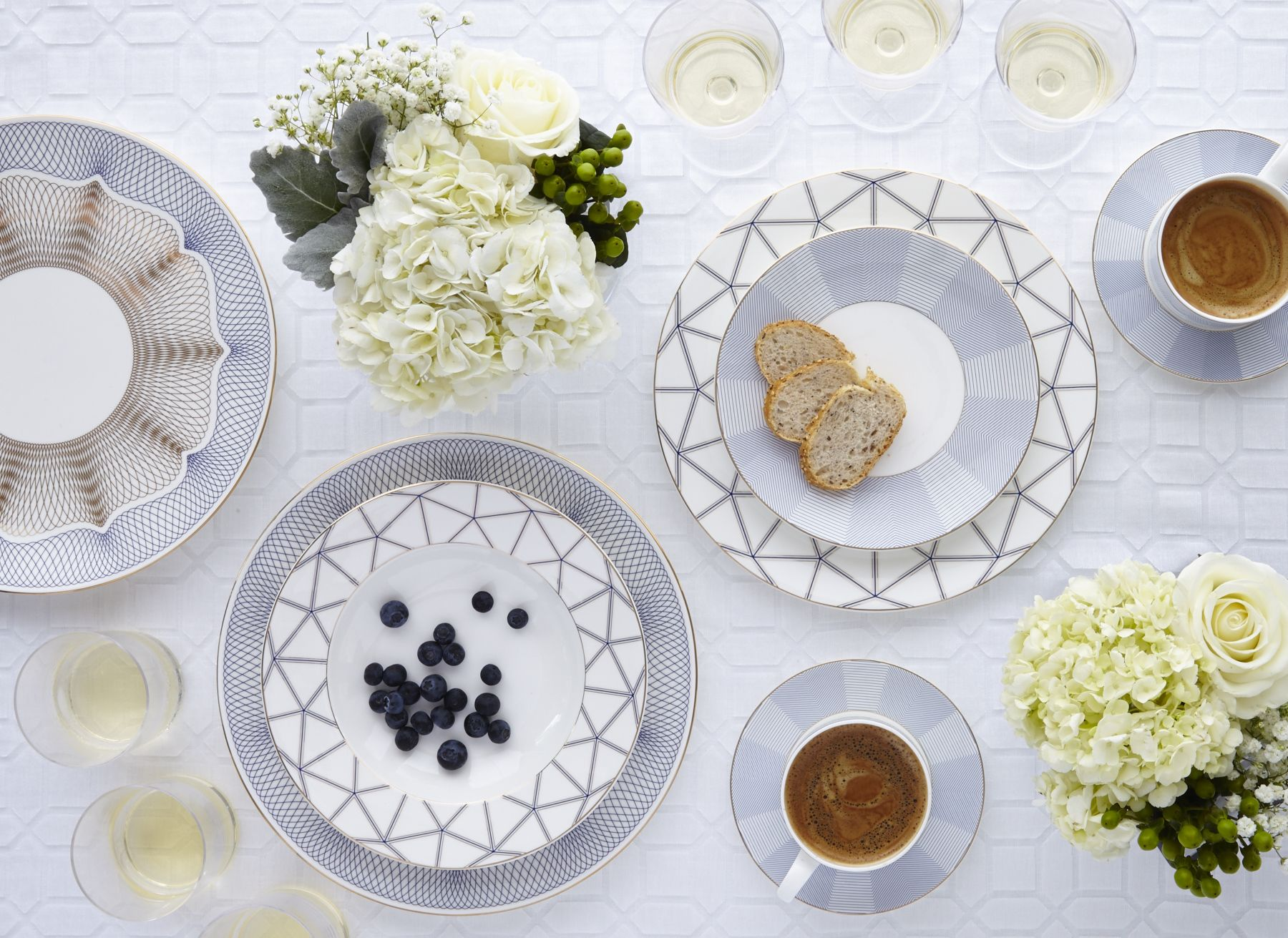 Fantastic Mix and Match with the Channing and Connelley Bone China. Adding in the Duke Bone China is absolute perfection.