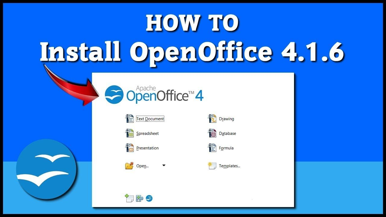How to install Open Office 4 16 on Windows 10 Tutorial