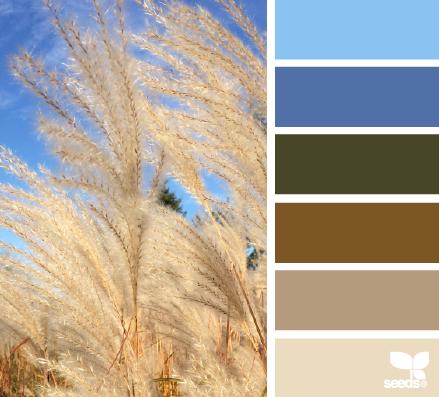 blue sky hues - Voor meer kleur inspiratie kijk ook eens o p http://www.wonenonline.nl/interieur-inrichten/kleuren-trends/
