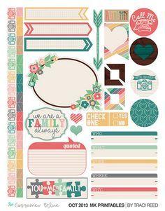 Simple Stories Freebie Planner Printables 2
