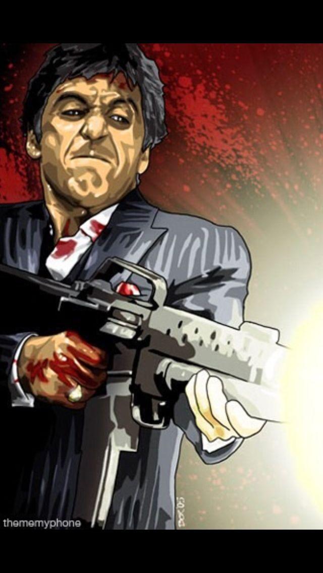 You cockaroaches man cave poster Scarface, Al pacino