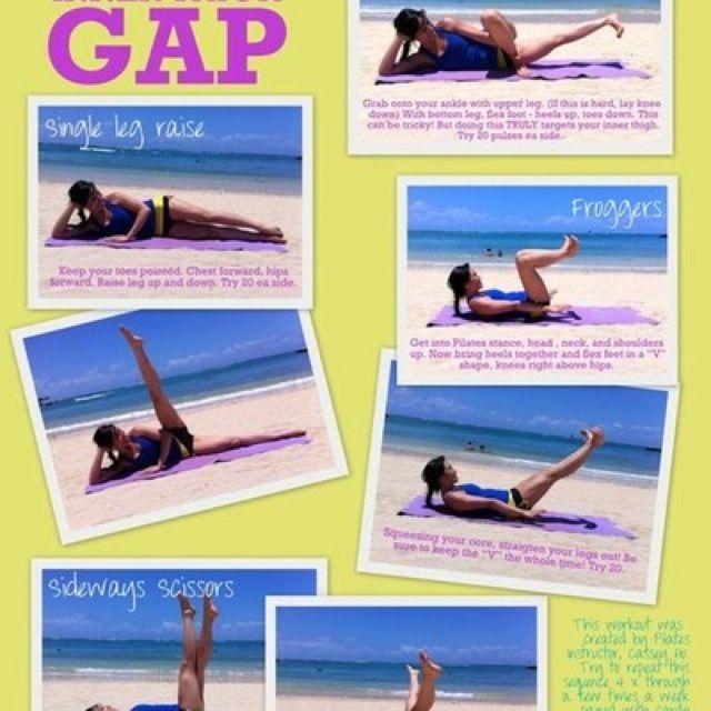 thigh gap workout inner thigh gap workout fitness freak