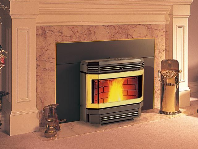 Fireplace Inserts, Country Comfort Wood Stove Fireplace Insert