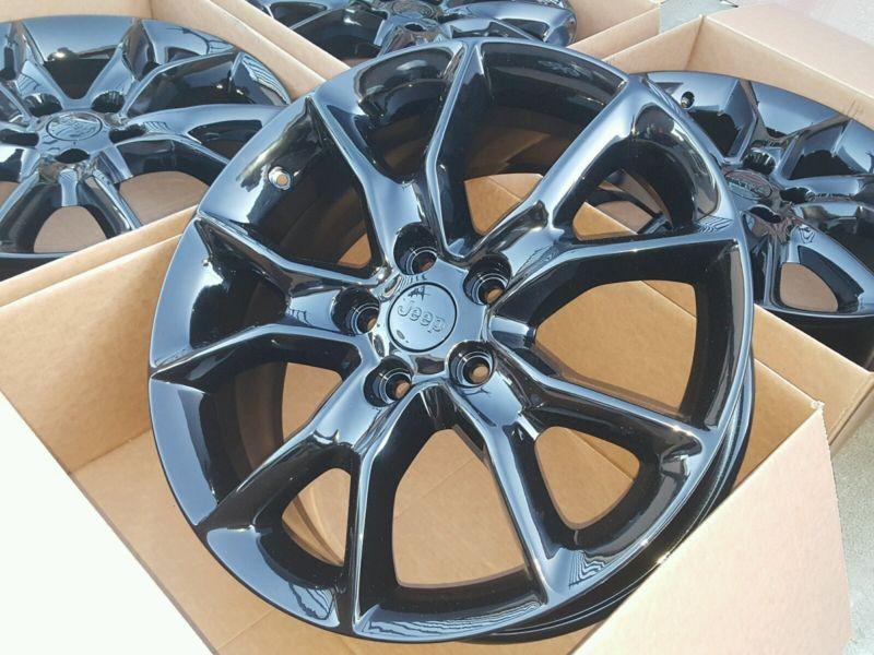 20 Quot Jeep Grand Cherokee Black Summit Factory Oem Wheels