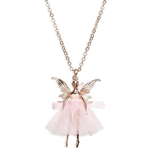Women's Ted Baker London Faylinn Mini Fairy Ballerina Necklace ($75) ❤ liked on Polyvore featuring jewelry and necklaces
