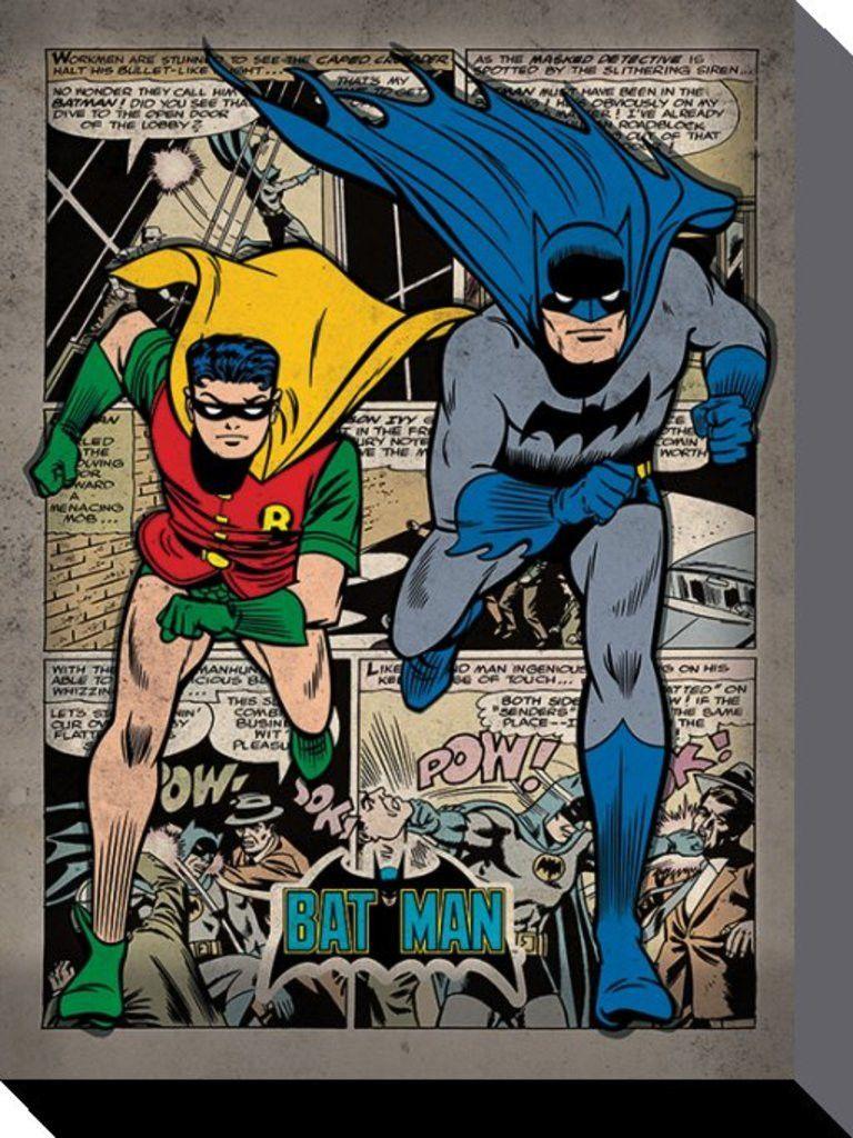 Batman - DC Comics - Comic Montage - Official Canvas Print