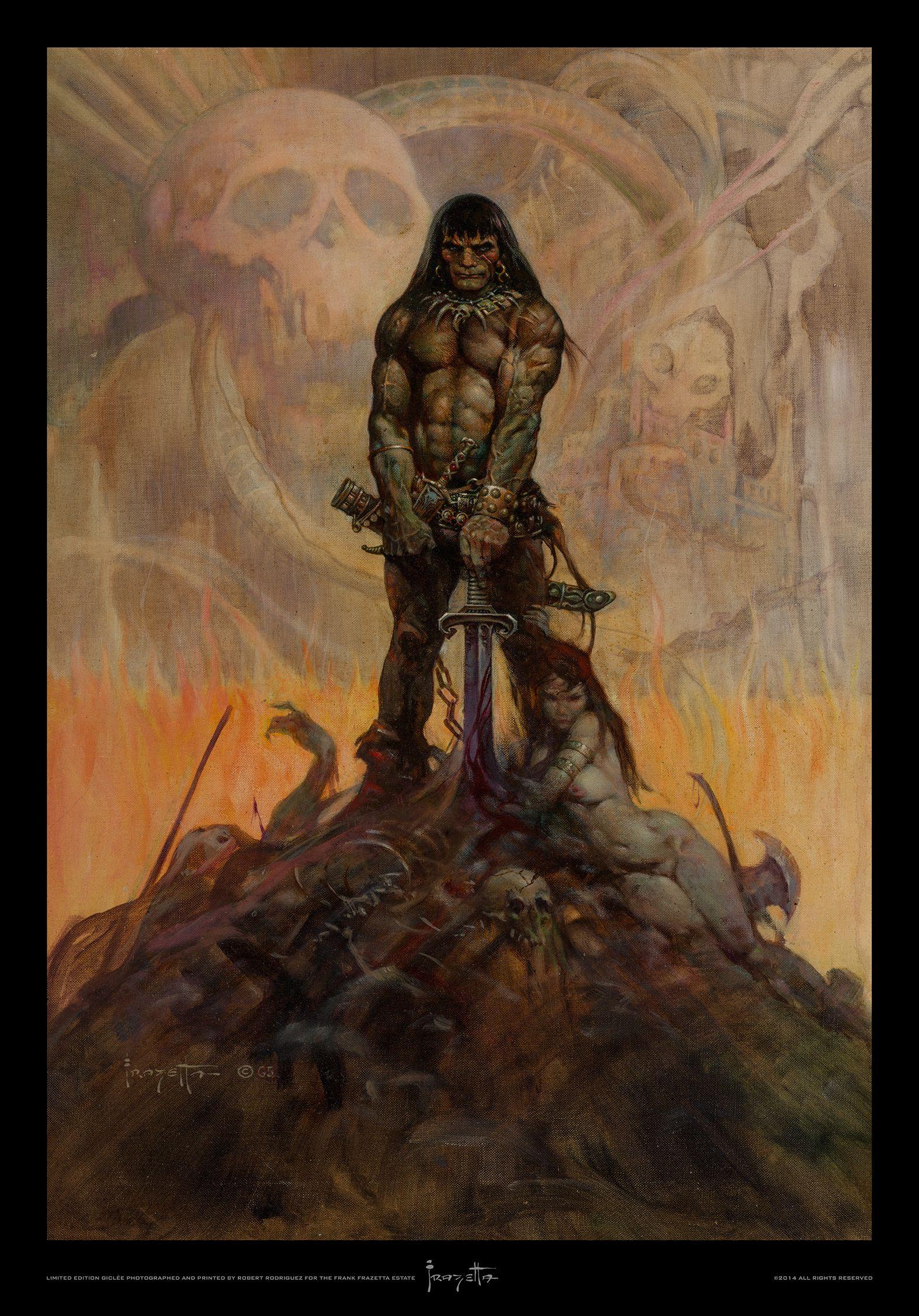 frank-frazetta-conan-the-barbarian-poster | Comic Book ...