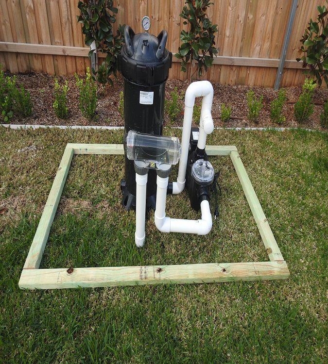 Pool Pump Shed Pool filters, Pool pump, Pool