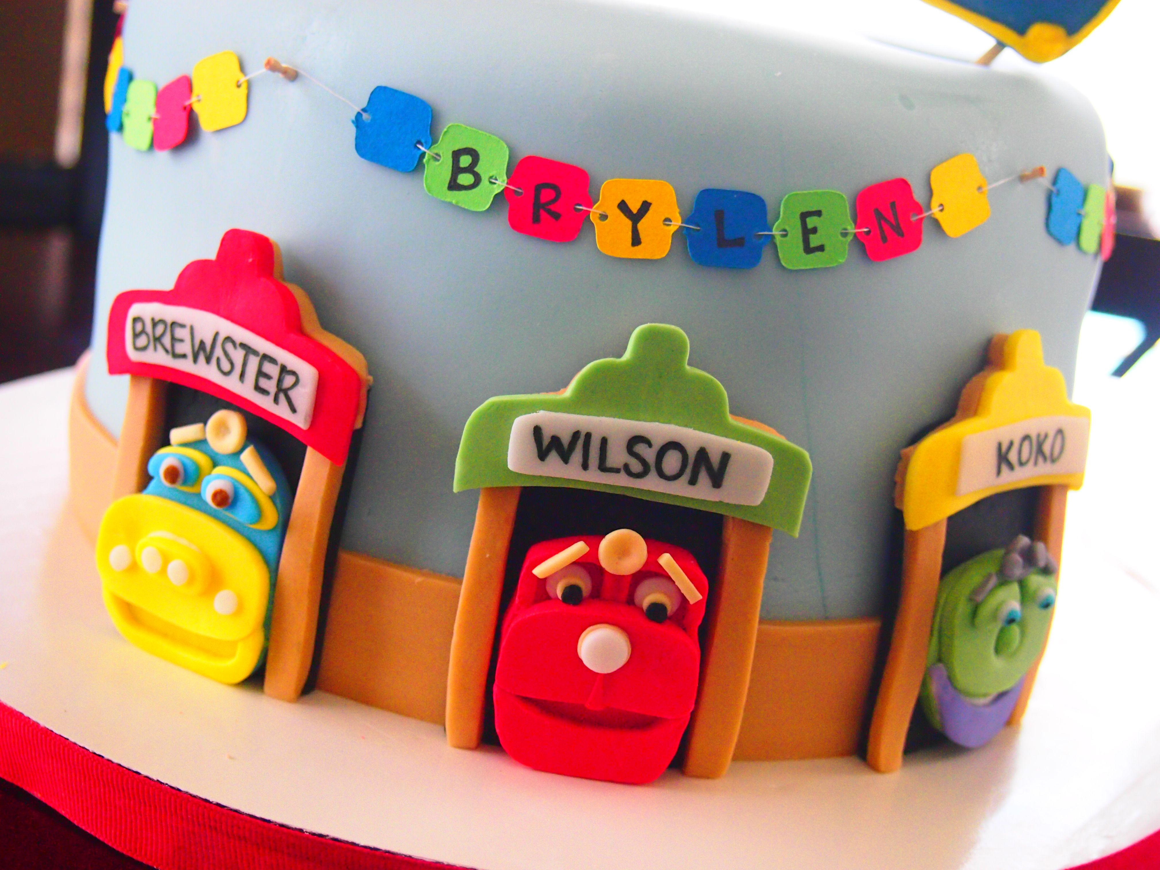 Chuggington Birthday Cake by Olive Parties For my boy Jahdrian