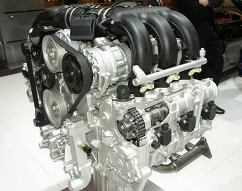 pictures of porsche boxster and porsche cayman s engine