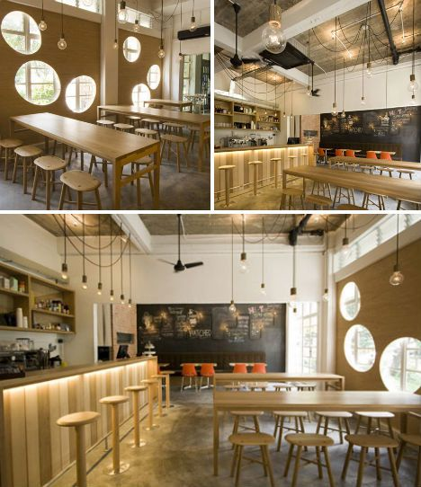 Cafe Designs Hatched Singapore Jpg 468 542 Deco Cafe Au Lait Idee