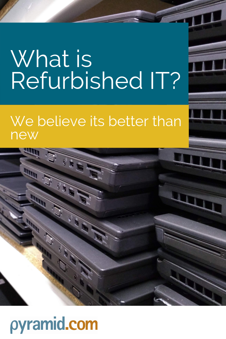The Refurbished Technology Market Has Taken Off In The Last Few Years And Is Now A Multi Bil Refurbished Laptops Refurbished Computers Refurbished Electronics