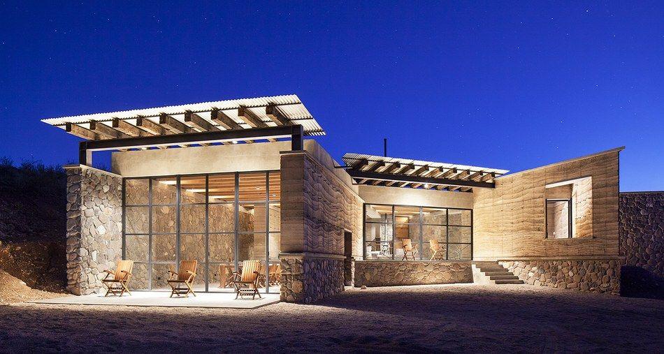 superbe maison contemporaine en pierre l architecture