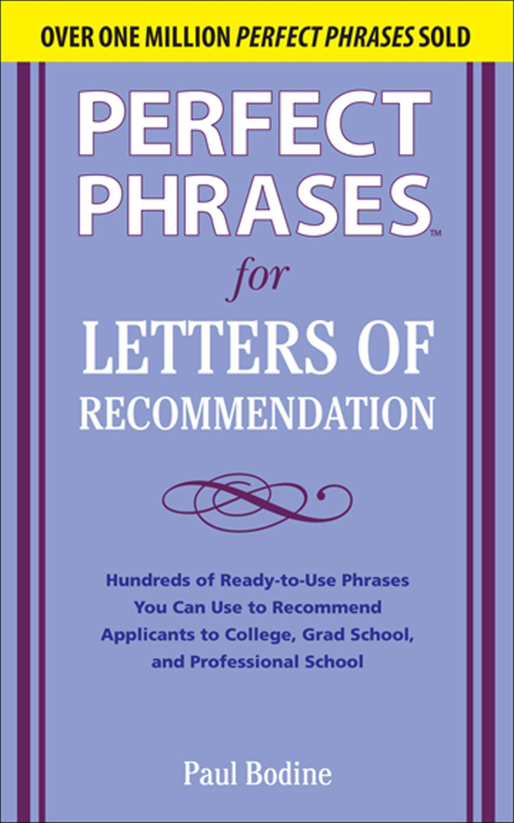 Perfect Phrases for Letters of (eBook