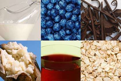 Six foods that lower high blood pressure.