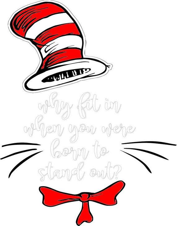 dr suess why fit in svg vector file | baby footprint art, footprint art, dr  seuss week  pinterest