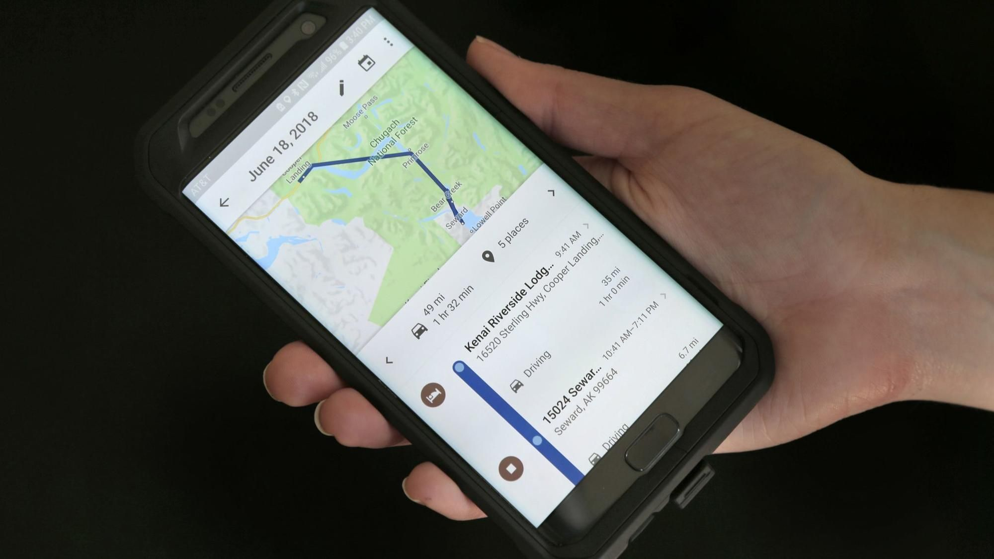 Google tracks your movements like it or not location