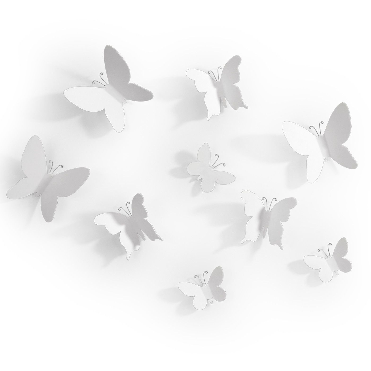 Mariposa 9 Piece Wall Decor Set Butterfly Wall Decor