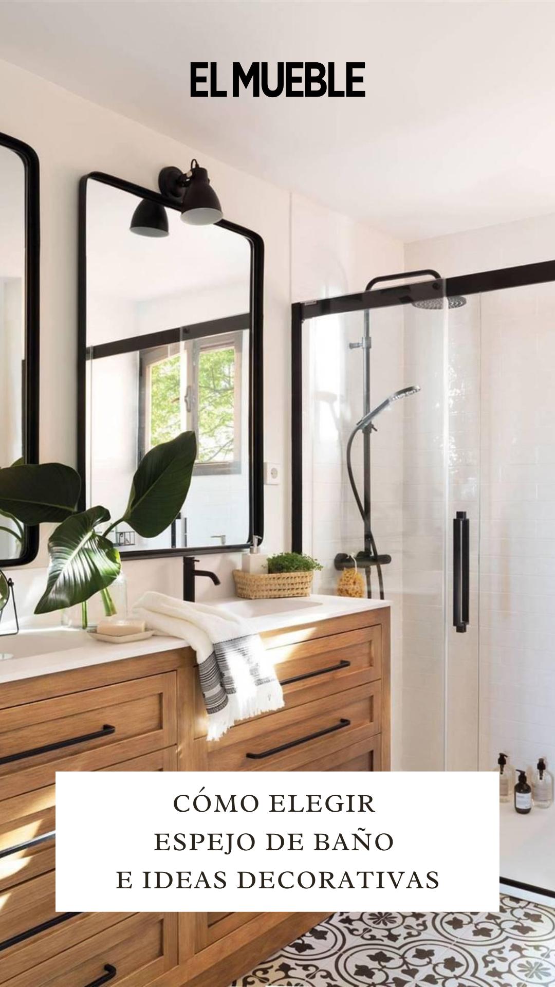 Cómo elegir espejo de baño e ideas decorativas en 2020 ...