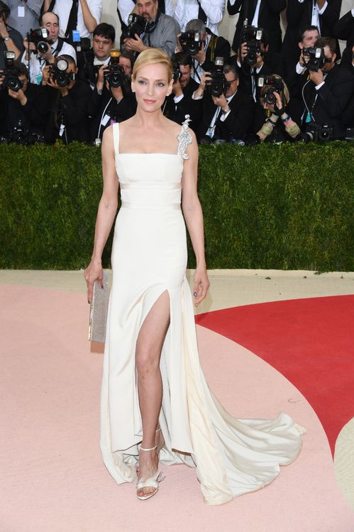 abf6ce39a8373 Inspiration mariage: les robes blanches du Met Ball 2016 ...