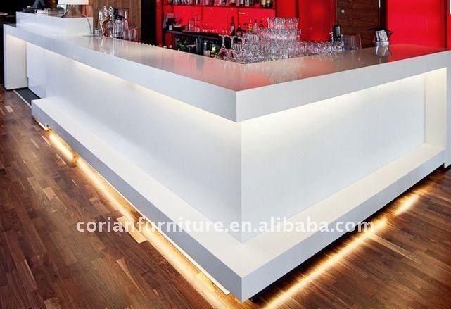 Backlit Counter For Front Of Drycleaner Bar Counter Design Bar