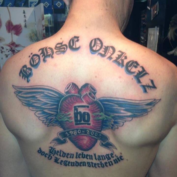 Tattoos Bohse Onkelz